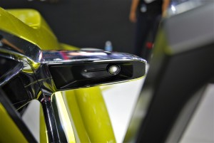 Mitsubishi XM Concept Wing Mirror Thailand International Motor Expo 2016