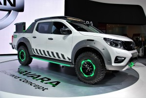 Nissan Navara EnGuard Concept Thailand International Motor Expo 2016