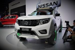 Nissan Navara EnGuard Concept Rescue Truck Thailand International Motor Expo 2016