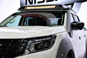 Nissan Navara EnGuard Concept Roof LED Lights Thailand International Motor Expo 2016