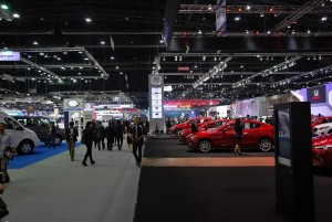 33rd Thailand International Motor Expo IMPACT Challenger Halls 1-3 2016