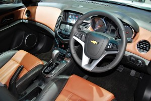 Chevrolet Cruze Interior 33rd Thailand International Motor Expo 2016