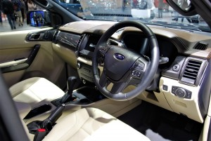 Ford Everest Interior 33rd Thailand International Motor Expo 2016