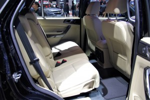 Ford Everest Rear Seats 33rd Thailand International Motor Expo 2016