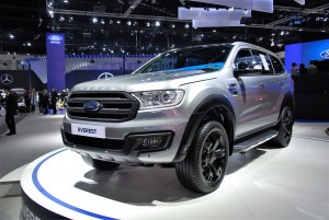 Ford Everest Silver 33rd Thailand International Motor Expo 2016