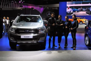 Ford Ranger & Models 33rd Thailand International Motor Expo 2016