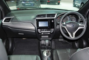 Honda BR-V Interior 1 33rd Thailand International Motor Expo 2016