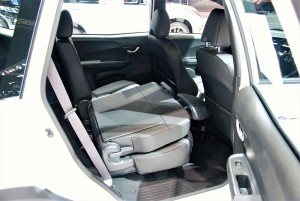 Honda BR-V Rear Seats 33rd Thailand International Motor Expo 2016