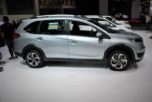 Honda BR-V SIde View 33rd Thailand International Motor Expo 2016