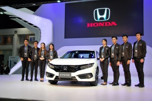 Honda Civic 33rd Thailand International Motor Expo 2016