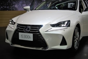 Lexus IS 300h Front Section 33rd Thailand International Motor Expo 2016