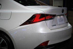 Lexus IS 300h Rear Light 33rd Thailand International Motor Expo 2016