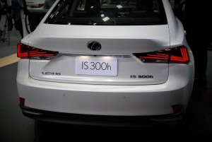 Lexus IS 300h Rear View 33rd Thailand International Motor Expo 2016