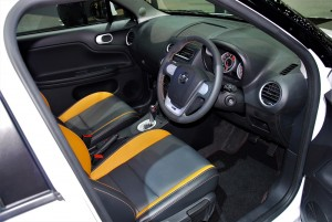MG 3 Interior 33rd Thailand International Motor Expo 2016