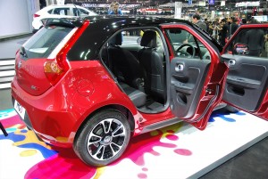 MG 3 Red Doors Open 33rd Thailand International Motor Expo 2016