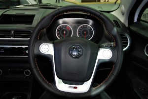 MG 3 Steering Wheel 33rd Thailand International Motor Expo 2016