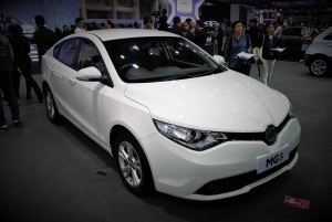 MG 5 33rd Thailand International Motor Expo 2016