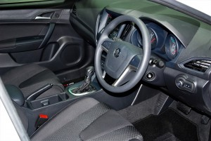 MG 5 Interior 33rd Thailand International Motor Expo 2016