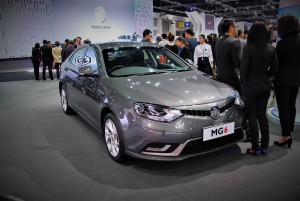 MG 6 Front View 33rd Thailand International Motor Expo 2016