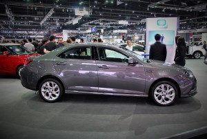 MG 6 Side View 33rd Thailand International Motor Expo 2016