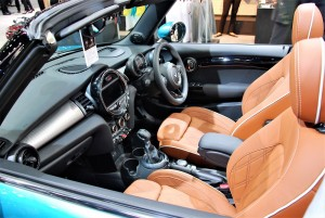 MINI Cooper S Convertible Interior 33rd Thailand International Motor Expo 2016