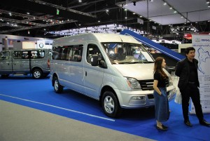 Maxus Front View 33rd Thailand International Motor Expo 2016