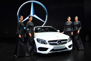 Mercedes-Benz C300 Cabriolet 33rd Thailand International Motor Expo 2016