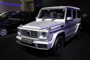 Mercedes-Benz G350d Sport 33rd Thailand International Motor Expo 2016