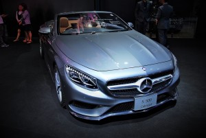Mercedes-Benz S500 Cabriolet 33rd Thailand International Motor Expo 2016