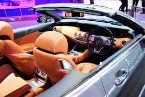 Mercedes-Benz S500 Cabriolet Cabin 33rd Thailand International Motor Expo 2016