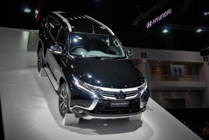 Mitsubishi Pajero Sport Black 33rd Thailand International Motor Expo 2016