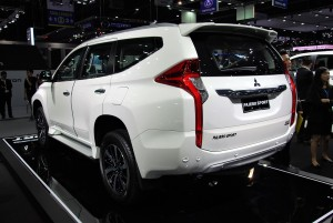 Mitsubishi Pajero Sport Rear View 33rd Thailand International Motor Expo 2016