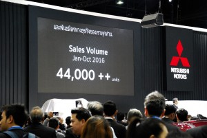 Mitsubishi Thailand Sales 33rd Thailand International Motor Expo 2016