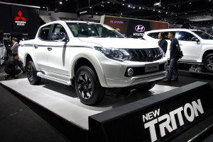 Mitsubishi Triton Front View 33rd Thailand International Motor Expo 2016
