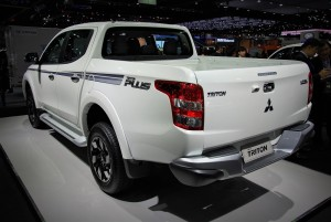 Mitsubishi Triton Plus Rear View 33rd Thailand International Motor Expo 2016