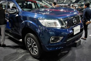 Nissan Navara Blue 33rd Thailand International Motor Expo 2016