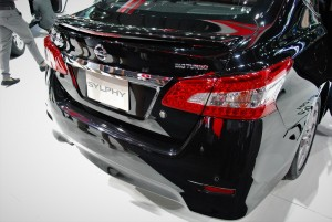 Nissan Sylphy DIG Turbo Rear 33rd Thailand International Motor Expo 2016