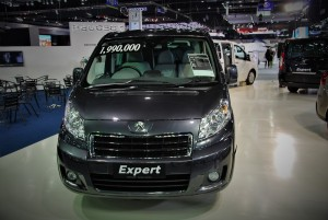 Peugeot Expert Front View 33rd Thailand International Motor Expo 2016