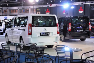 Peugeot Expert Rear 33rd Thailand International Motor Expo 2016