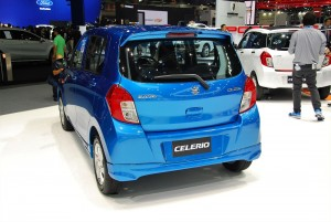 Suzuki Celerio Rear View 33rd Thailand International Motor Expo 2016