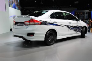 Suzuki Ciaz RS Rear View 33rd Thailand International Motor Expo 2016