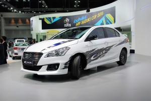 Suzuki Ciaz RS White 33rd Thailand International Motor Expo 2016