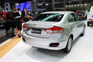 Suzuki Ciaz Rear View 33rd Thailand International Motor Expo 2016