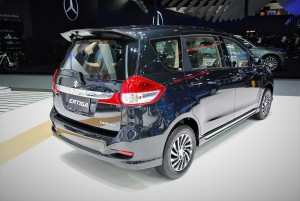 Suzuki Ertiga Dreza Rear View 33rd Thailand International Motor Expo 2016
