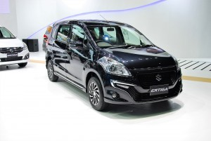 Suzuki Ertiga Drezza Front View 33rd Thailand International Motor Expo 2016