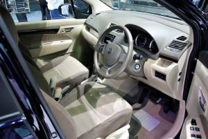 Suzuki Ertiga Interior 33rd Thailand International Motor Expo 2016