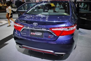 Toyota Camry ES Sport Rear View 33rd Thailand International Motor Expo 2016