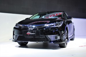 Toyota Corolla Altis ES Sport Front View 33rd Thailand International Motor Expo 2016