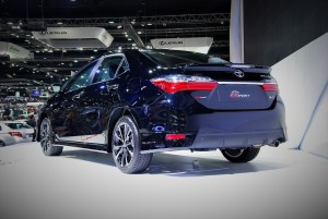 Toyota Corolla Altis ES Sport Rear View 33rd Thailand International Motor Expo 2016