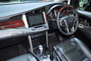 Toyota Innova Crysta White Interior 33rd Thailand International Motor Expo 2016